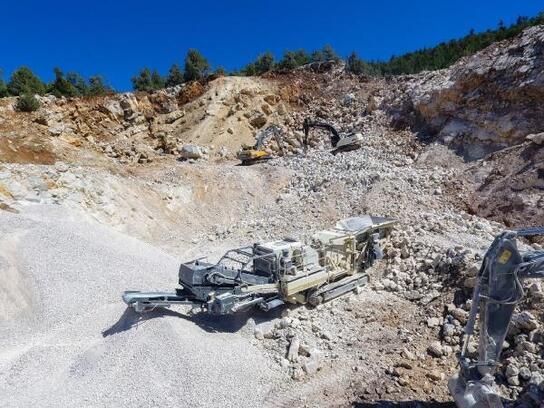 Dulkadiroğlu Belediyesi, taş ve kumu kendi şantiyesinde üretecek