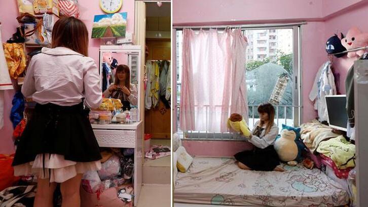 Üç metrekarelik bir evde yaşar mıydınız?