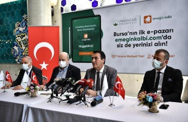 Osmangazi Belediyesi esnafa destek için e-ticaret sitesi kurdu