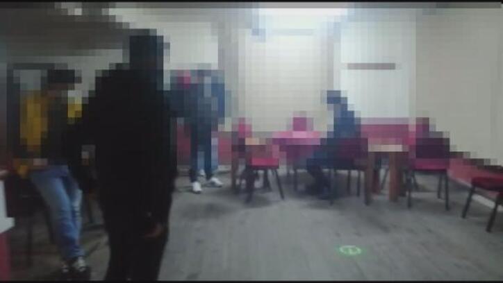 Kahvehanede oyun oynayan 8 kişiye ceza