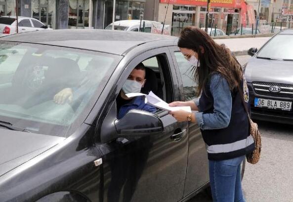 Yozgat'ta kısıtlamayı ihlal eden 301 kişiye para cezası
