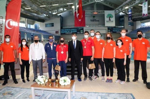 Gaziantep'ten su sporlarına 57 milli sporcu