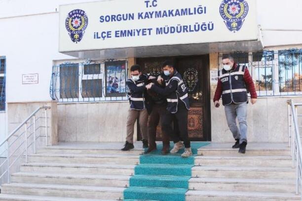 Sorgun'da hırsızlığa 4 gözaltı