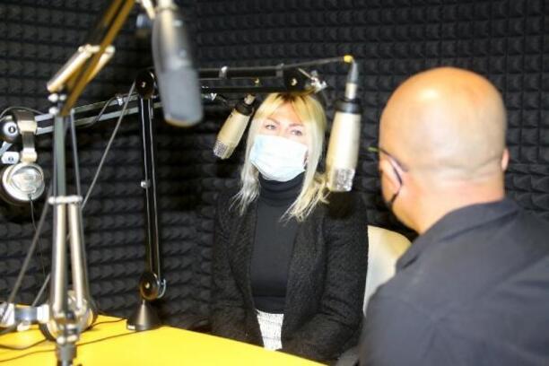 Rektör Özkan önerdi, ÜNIFM'de dünya müzikleri de çalacak