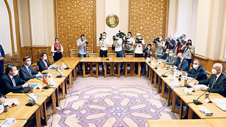 'Türkiye-Mısır istişareleri samimi ve kapsamlı geçti'