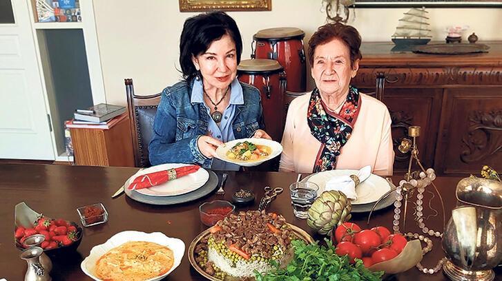 Anne yemekleriyle ziyafet