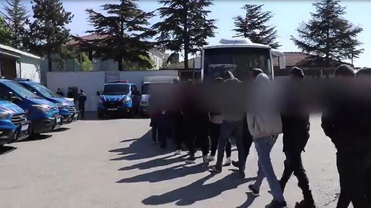 Sanal dolandırıcılık çetesine operasyon! 11 kişi tutuklandı