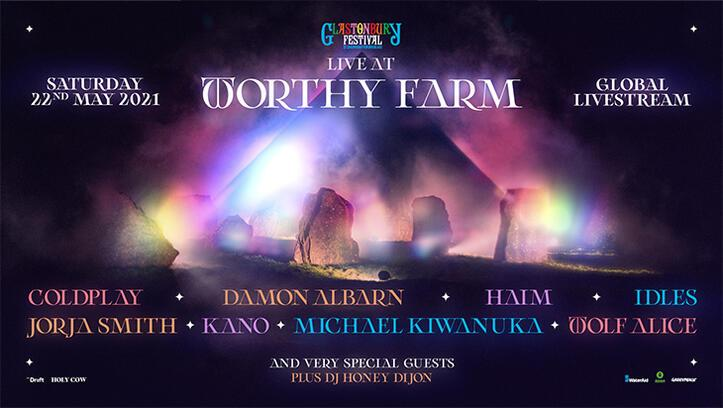 Glastonbury Festivali ilk kez dijitalde! Coldplay yeniden sahnede