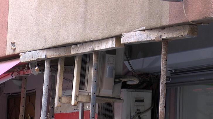 Şişli'de boşaltılan binanın sahibi: Arkadaki inşaat 5 sene önce başladı...