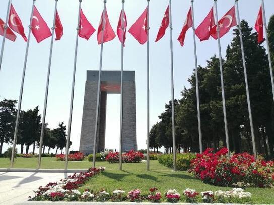 Tarihi Gelibolu Yarımadası'nda güller açtı