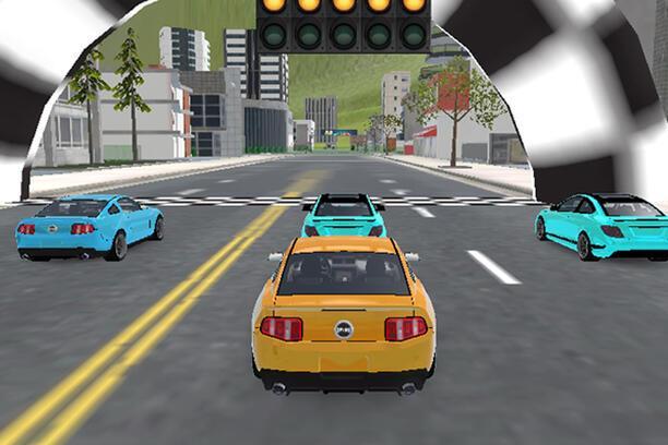 3D Araba Yarışı Oyna