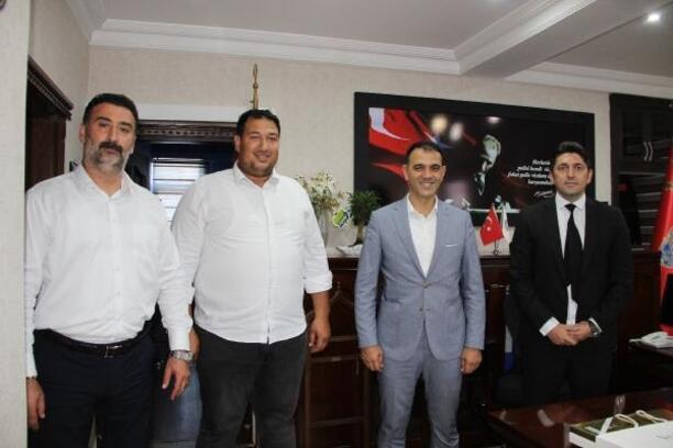 Altunok'tan Emniyet Müdürü Gökhan Mert'e 'hayırlı olsun' ziyareti