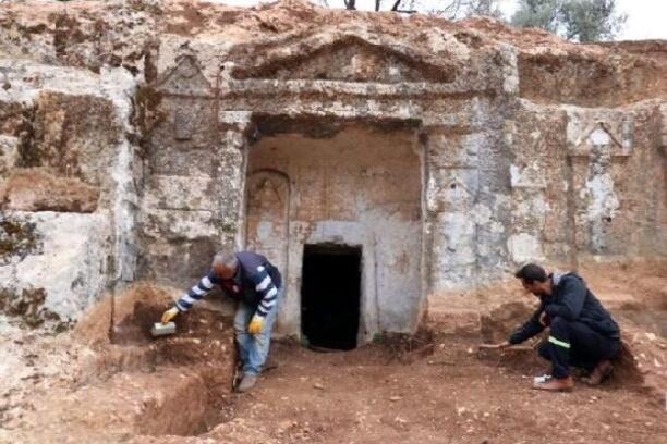Altınözü'ndeki Roma Nekropolü turizme kazandırılıyor