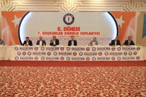 Sağlık-Sen, '7'nci Başkanlar Kurulu Toplantısı'nı gerçekleştirdi