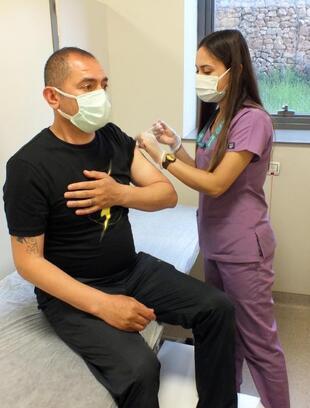Yozgat'ta günde 1500 kişiye koronavirüs aşısı