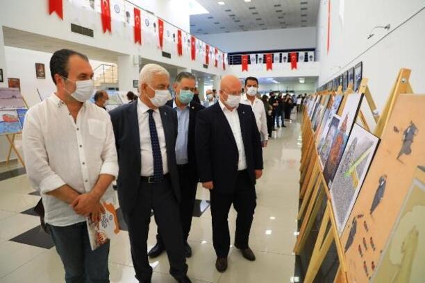 'Pandemi-Covid 19' konulu uluslararası karikatür yarışmasına büyük ilgi