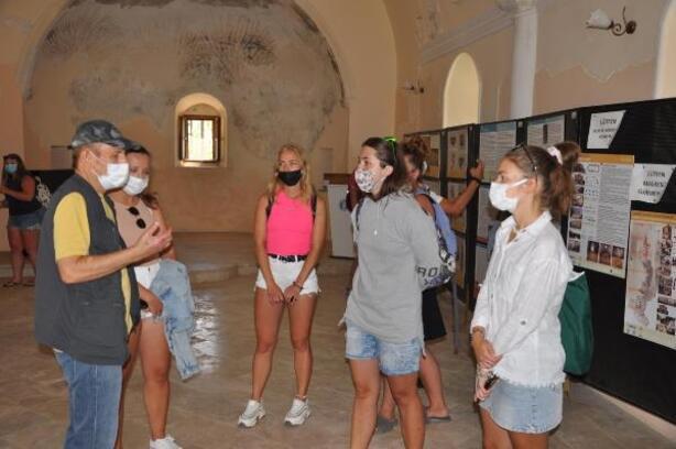 Datça, yabancı tur rehberleriyle dünya turizmine açılıyor