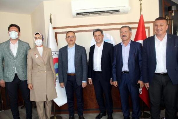 AK Parti İzmir İl Başkanı Kerem Ali Sürekli' den ÖTO'ya ziyaret