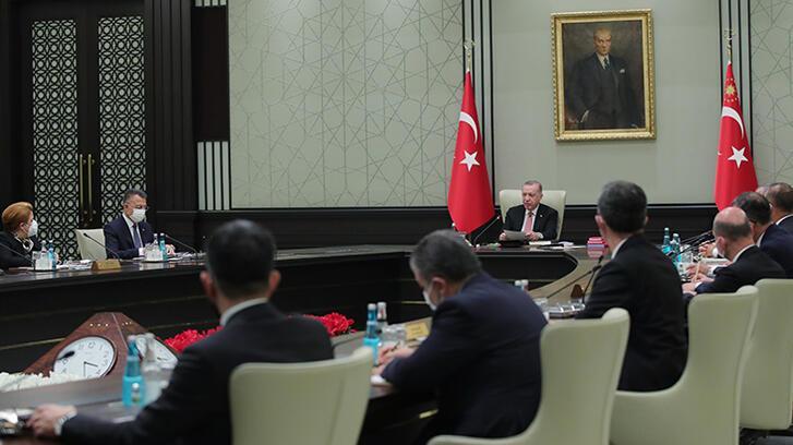 Son dakika! Cumhurbaşkanlığı Kabine toplantısı başladı