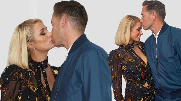 Paris Hilton kırmızı halıda aşka geldi