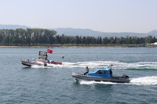 Yalova'da Denizcilik ve Kabotaj Bayramı'nın 95. yılı, törenle kutlandı