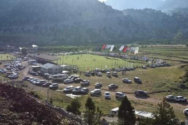 9'ncusu organize edilen Kızıldağ Futbol Turnuvası başladı