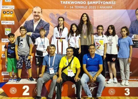 Erdemli'de şampiyonluk gururu