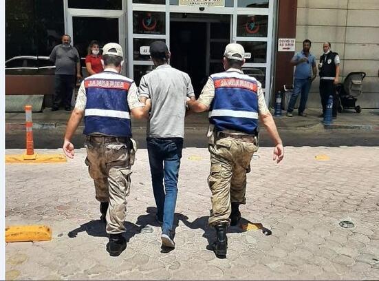 Kilis'te kablo hırsızı tutuklandı