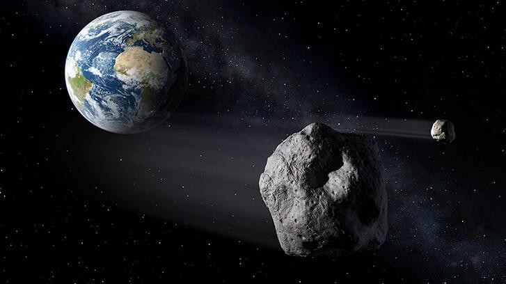 Potansiyel olarak tehlikeli bir asteroit Dünya'ya yaklaşıyor!