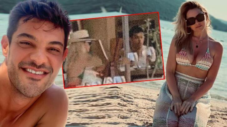 Hadise-Mehmet Dinçerler çifti hayranlarına yakalandı!