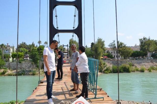 Silifke'ye asma köprü