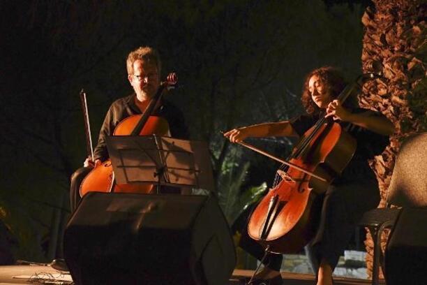 Genç sanatçılardan tarihi Güvercinada'da klasik müzik dinletisi