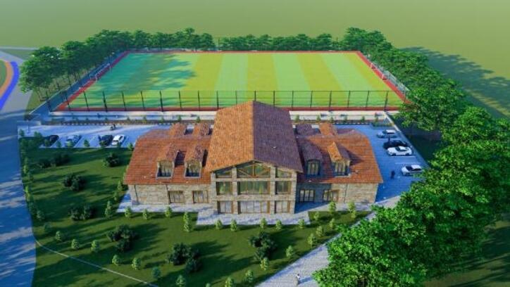 Ümraniye Belediyesi, Trabzon Park Spor Tesisi inşa çalışmalarına başladı