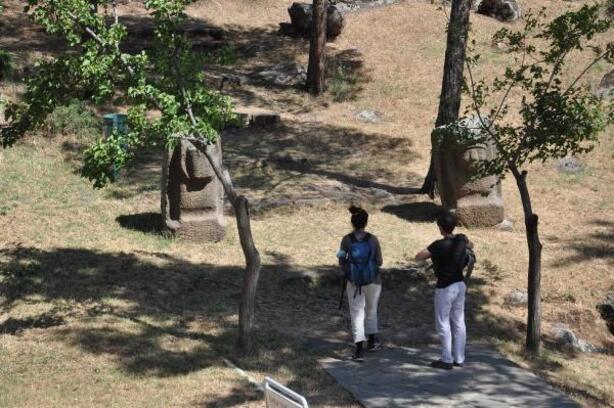 Yesemek'teki heykellere 5 bin 848 ziyaretçi
