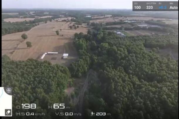 Jandarma ormanlık alanları dronla denetliyor