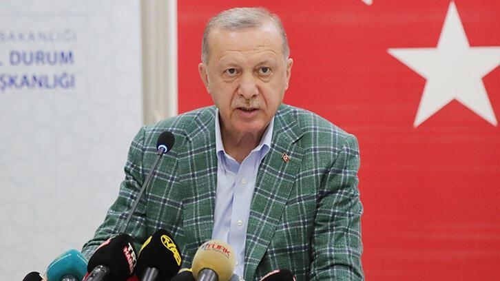 Cumhurbaşkanı Erdoğan'dan yedi ülke liderine teşekkür mesajı