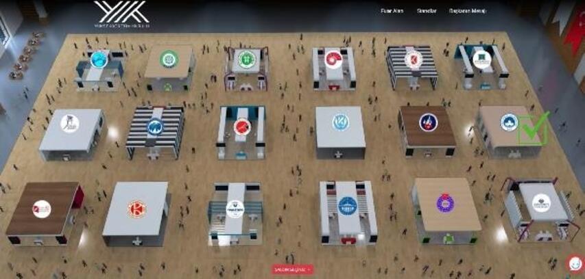 Kırklareli Üniversitesi'nden öğrencilere sanal fuarlı tanıtım