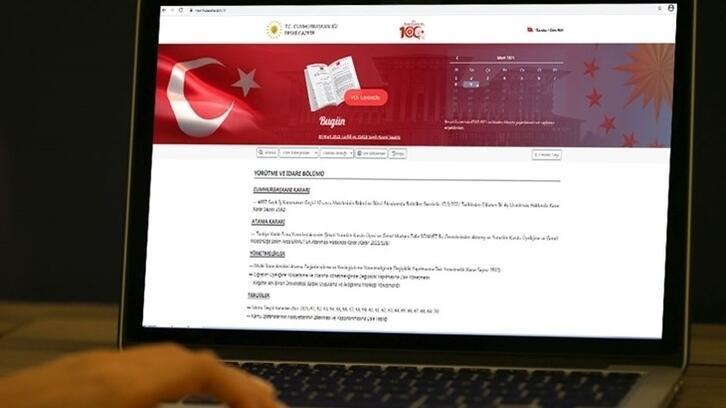 Bazı bakanlıklar ve kuruluşlara atama kararları Resmi Gazete'de