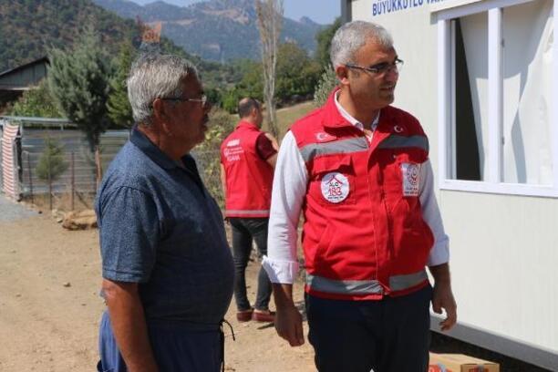 Aile ve Sosyal Politikalar Bakanlığı'ndan yangın mağdurlarına psikolojik destek
