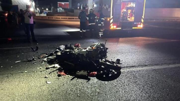 Çerkezköy'de trafik kazası: 1 ölü,3 yaralı