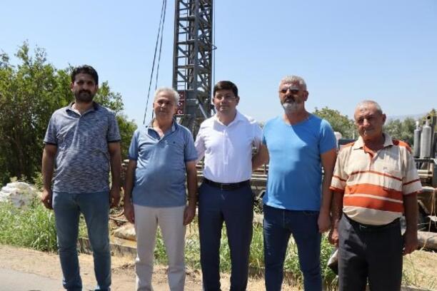 Nazilli Belediyesi 120 metre derinlikte temiz içme suyu buldu