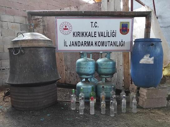 Kırıkkale'de uyuşturucu ve kaçak içki operasyonu: 1 gözaltı