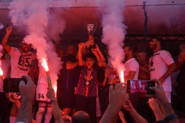 Kızıldağ'da şampiyon Gildirlispor