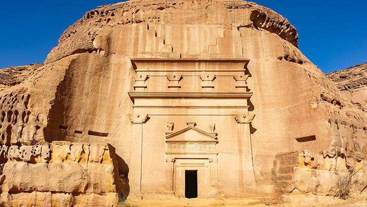 Arabistan Çölü'nde bir dünya mirası Medain Salih