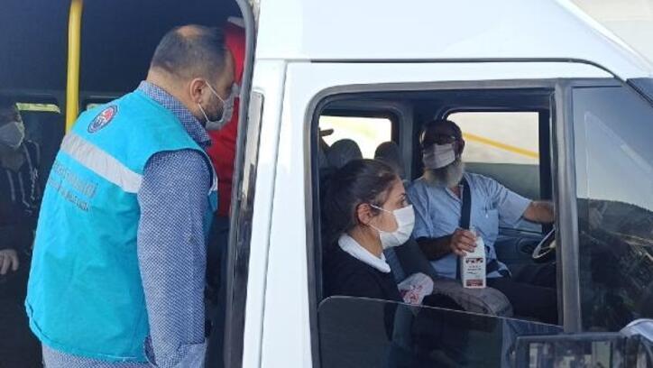 Kırıkkale'de servis araçları denetlendi