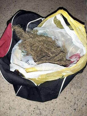 Valizinde uyuşturucu bulunan şüpheli tutuklandı