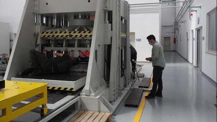 Eskişehir'deki test merkezi Asya ve Güney Amerika'ya hizmet veriyor