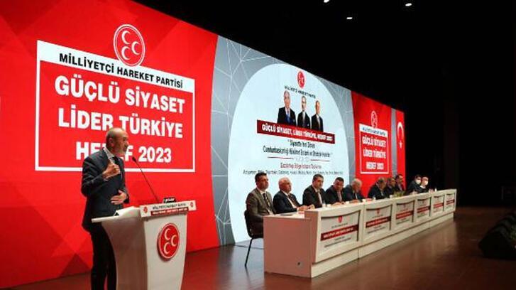 MHP'li Yıldırım: Hedefimiz Erdoğan'ın yeniden cumhurbaşkanı seçilmesi