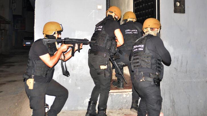 Adana ve İstanbul'da DEAŞ'ın Yamaçlı grubuna operasyon!