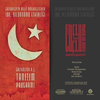 Gaziantep'teki kültür çalışmaları tanıtılacak
